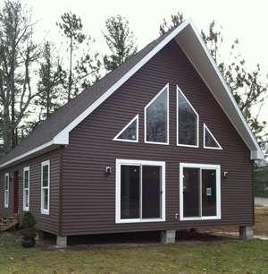 North country homes modular homes northern michigan for Chalet modular homes